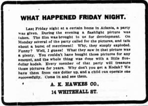 A.K. Hawkes adv.1906