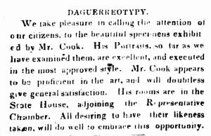 Cook Mville April 1849
