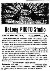 DeLong ad re St.JulianJohnson 1918