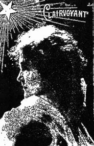 DeLong portrait 1911 Clairvoyant adv.