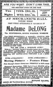 DeLong PublicAppearance Sav 1911