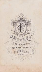 Coonley, J.F. MemphisCDVback