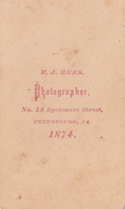 Rees, E.J. VA 1874cdvBack