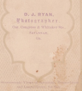 Ryan, D. J. cdv backmark detail 1869