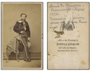 Louis_De_Planque_Brownsville__Texas_1871__Dressed_in_Mexican_dress_all_silver_trimmings