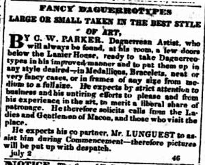Parker, C.W. & Lunquest, J.M.1850