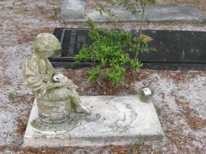 Grave marker Cedar Key Cem