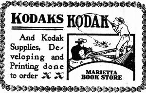 Marietta Book Store adv. 1906