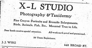 Wirz, J.J. X-L Studio 1917 AugustaBizD