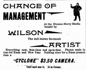 Wilson, M.E. Waycross 1898