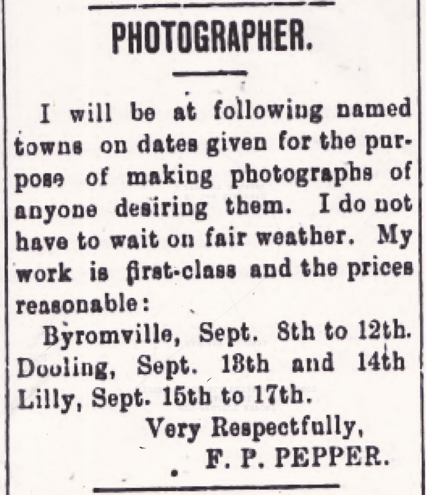An African American Itinerant Photographer, Friday's Face from the Past (3/3)