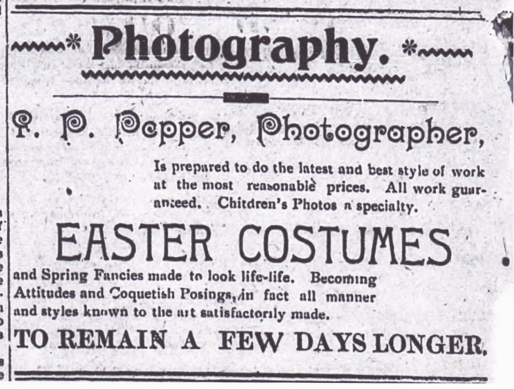An African American Itinerant Photographer, Friday's Face from the Past (1/3)