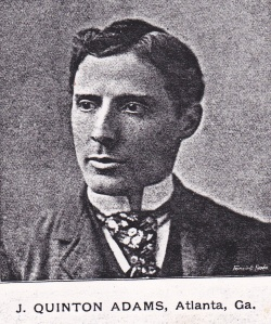 Adams, J.Q. c1895