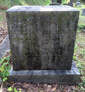 Headstone, Myrtle Hill Cemetery, Rome GA; photo by Traci Rylands