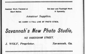 Wolf, J. Savannah CD1898p27back