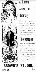 Tifton Gazette, 24 July 1903 p.7