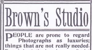 Brown, H.W. Tifton Sept.1909 detail