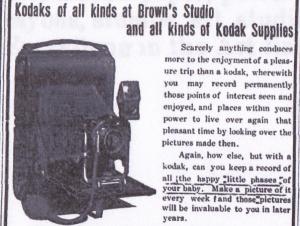 Advertisement detail, Tifton Gazette, Sept. 10, 1909 p. 26