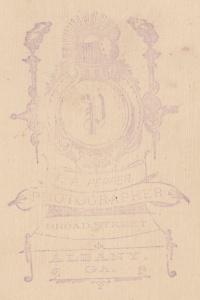 Pepper, F.P. Albany bkcab detail