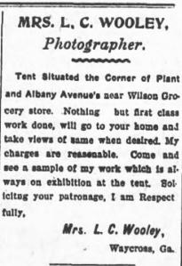 Waycross Evening Herald 7 July 1906 p.2 c.3