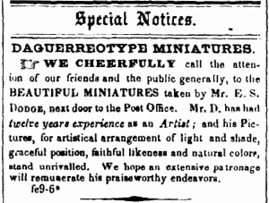 Dodge Aug.ChronSentinelFeb1849
