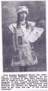 Cora Jackson, 1919 portrait by R.E. Hearn, Macon GA