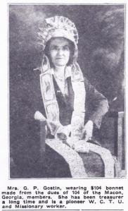 Mrs. G. P. Goston, 1919 portrait by R. E. Hearn, Macon GA