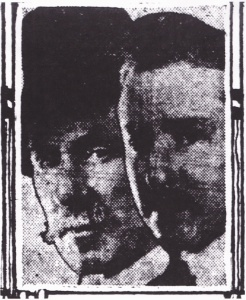 "W.R and C. W. Reeves, in a group of ""Leading Atlanta Photographers, First Southeastern Photographers' Convention"" portraits in the Atlanta Constitution May 22, 1921"