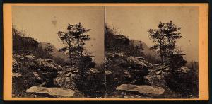 G. N. Barnard, From point of Lookout Mountain, looking west, stereo view, c1864; Library of Congress Prints and Photographs Division, LC-DIG-stereo-1s01391