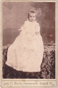 Douglas L. Dornish (?), 1907 cabinet card by J. N. Smith, Dublin, GA; collection of E. Lee Eltzroth