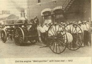 Orlando Fire Department Engine, 1912 (Orlando Memory)