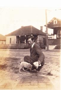 Atlanta snapshot young man, pup2 c1914
