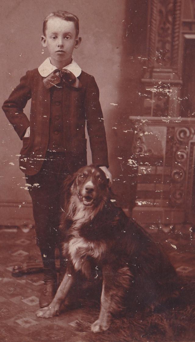Bennett, W.L. cab Acworth boy&dog detail