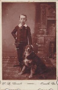 Bennett, W.L. cab Acworth boy&dog