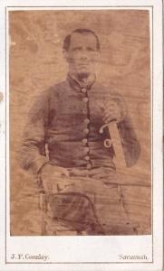 Coonley, J.F., Savannah cdv Henry L. Foy