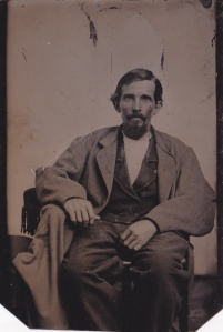 William Foy, ferrotype by an unidentfied photographer, ca. 1868-1870; collection of E. Lee Eltzroth
