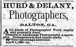 Hurd & Delany, Dalton adv. 1886 N GA Citizen 4Feb p3c7