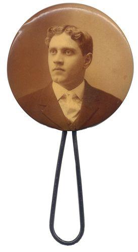 25A Man's portrait 1890s Mirror back copy