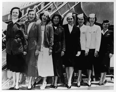 Women_modeling_evolution_of_Eastern_Air_Lines_flight_attendant_uniforms_circa_1960s-2