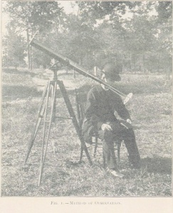 Eclipse telescope, 1900, Washington GA, Creighton U.