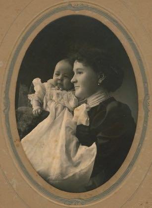 Edith & her mom