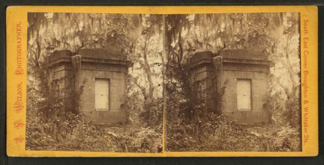 Bonaventure Gen. Clinch's tomb nypl
