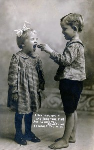 Bessie and Howard, Jr. 1910