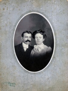 Howard W. Brown and Katy Brown c1910