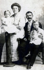 Howard W Brown family