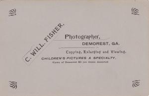 Fisher, C.W. DemorestGirlCabBack