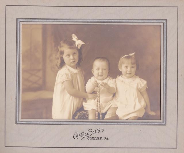 Cofield Studio, Cordele 3 kids ca.1930