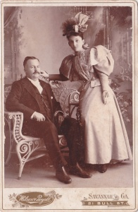 Wilson & Royall cab 1896 stylish couple