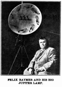 Jupiter Lamp article Felix Raymer1909